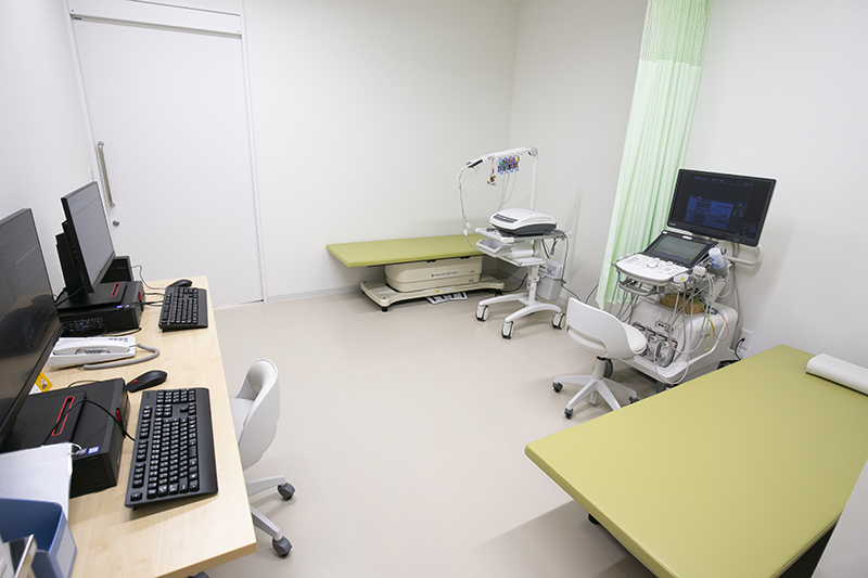 エコー・心電図室