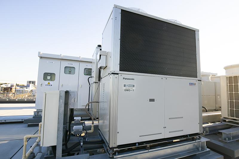 自立型空調設備